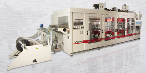 TS - 800 / Termoform Makinası - Servo