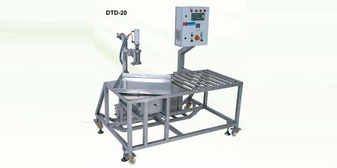 DTD Serisi Terazili Sistem Dolum Makinaları