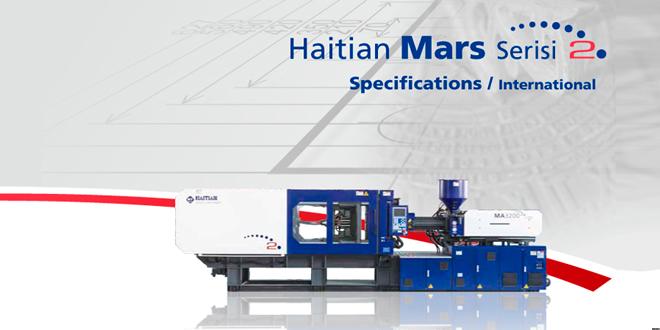 HAITAN'DAN MARS SERİSİ PLASTİK ENJEKSYON MAKİNALARI
